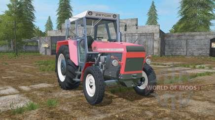 Zetor 8111 pastel red para Farming Simulator 2017