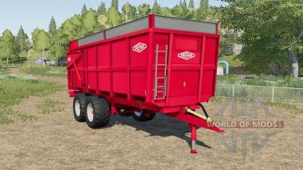 Orenge ORM 160 ruddy para Farming Simulator 2017