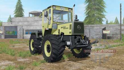 Mercedes-Benz Trac 900 Turbo animierte hydraulik para Farming Simulator 2017