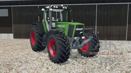 Fendt Favorit 926 Vario forest green para Farming Simulator 2015