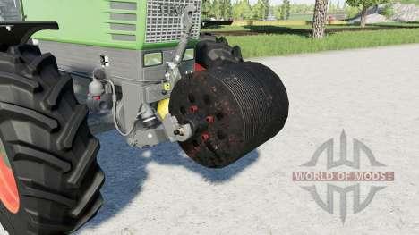 Plate weight 500 kg. para Farming Simulator 2017