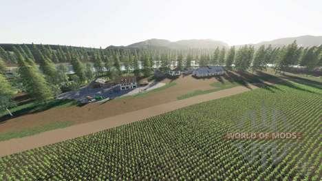 Agrar Halbinsel para Farming Simulator 2017