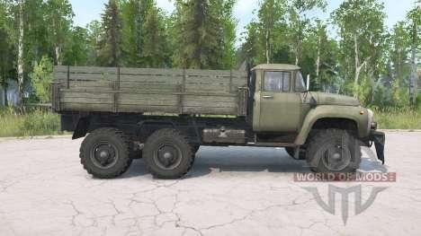 ZIL-130 G 6x6 para Spintires MudRunner