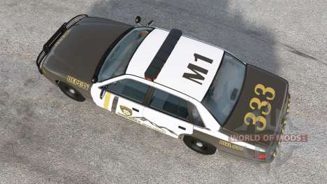 Gavril Grand Marshall Mano County Sheriff para BeamNG Drive