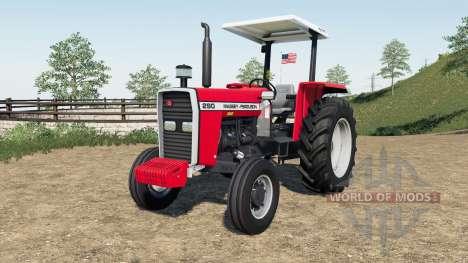 Massey Ferguson 290 para Farming Simulator 2017