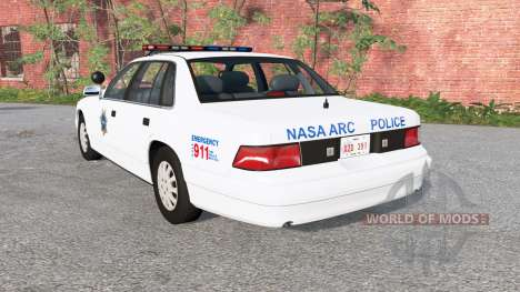 Gavril Grand Marshall NASA ARC Police para BeamNG Drive