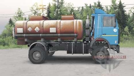 MAZ-5434 para Spin Tires
