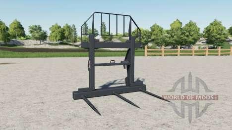Horquillas para pacas Magsi para Farming Simulator 2017