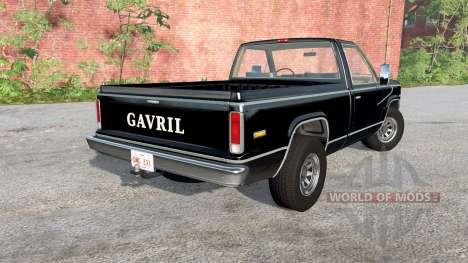 Gavril D-Series 70s para BeamNG Drive