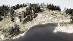 El lago profundo v1.01 para MudRunner