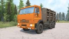 KamAZ-65115 para MudRunner