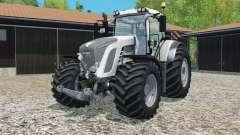 Fendt 9ろ3 Vario white edition para Farming Simulator 2015