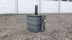 Front weight 900 kg. para Farming Simulator 2013