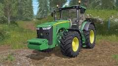John Deere 8245Ɍ-8400Ɍ para Farming Simulator 2017