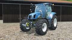 New Holland T6.160 replaceable tires para Farming Simulator 2015
