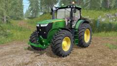 John Deere 7280R-7310R selecting modification para Farming Simulator 2017