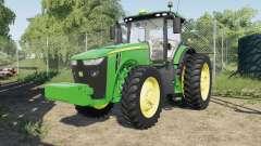 John Deere 8245Ɍ-8400R para Farming Simulator 2017