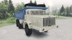 El MAZ-530-beige-azul color para Spin Tires
