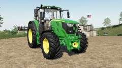 John Deere 6135M〡6145M〡6155M para Farming Simulator 2017