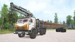 KamAZ-4410 para MudRunner