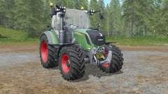 Fendt 500 Vario with all-round lights para Farming Simulator 2017