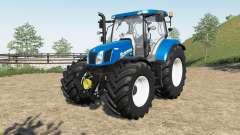New Holland T6.140 & T6.160 para Farming Simulator 2017