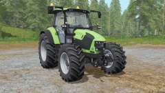 Deutz-Fahr 5110 TTV the choice of wheels para Farming Simulator 2017