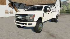 Ford F-450 Super Duty Platinum Crew Cab Զ017 para Farming Simulator 2017