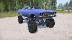 Chevrolet El Camino 1970 lifted para MudRunner