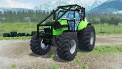 Deutz-Fahr Agrotron TTV 630 Forest Edition para Farming Simulator 2013