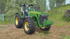 John Deere 8000-series para Farming Simulator 2017