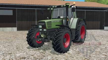 Fendt Favorit 515C Turbomatiƙ para Farming Simulator 2015