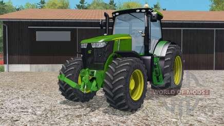 Juan Deeᵲe 7310R para Farming Simulator 2015