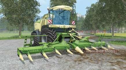 Krone BiG X 580 & EasyCollect 750 para Farming Simulator 2015