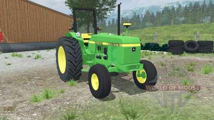 John Deere 2140 dual rear wheels para Farming Simulator 2013