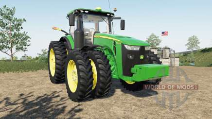 John Deere 8R-serieᵴ para Farming Simulator 2017