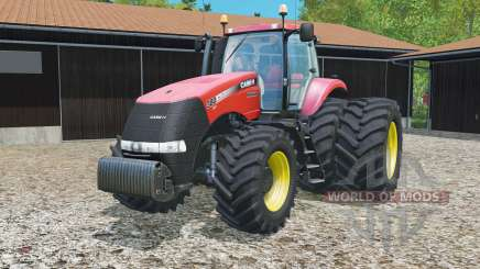 Case IH Magnum 380 CVT dynamic rear twin wheels para Farming Simulator 2015