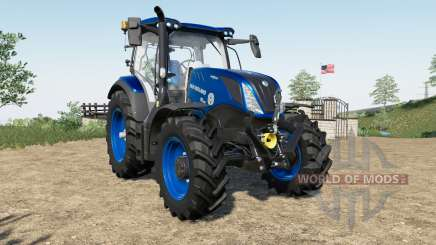 New Holland T6.125〡T6.155〡T6.175 para Farming Simulator 2017