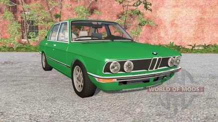 BMW 528i sedan (E12) 1977 para BeamNG Drive
