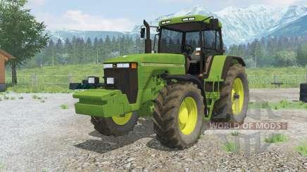 Juan Deerᶒ 8100 para Farming Simulator 2013