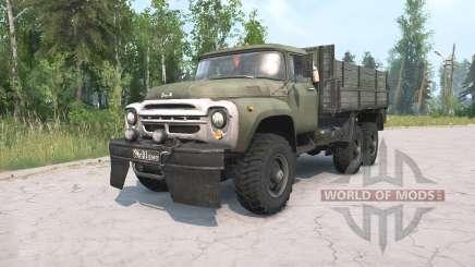 ZIL-130 G 6x6 para MudRunner