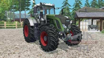 Fendt 936 Vario ploughing spec para Farming Simulator 2015