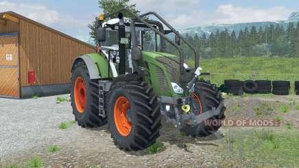 Fendt 828 Vario Forest Edition para Farming Simulator 2013