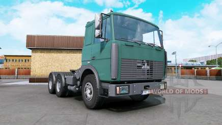 MAZ-6422 dark cyan para Euro Truck Simulator 2
