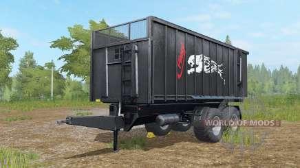Fliegl TMK 266 Negro Panteᵲ para Farming Simulator 2017