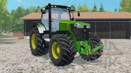 John Deere 7ろ10R para Farming Simulator 2015