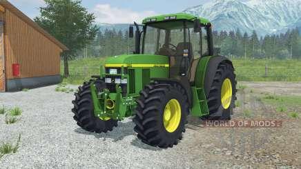 John Deere 6610 More Realistic para Farming Simulator 2013
