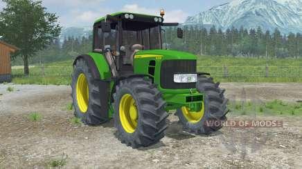John Deere 6330 Premium front loader para Farming Simulator 2013