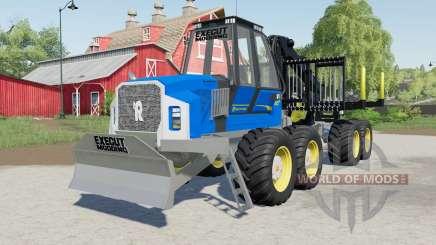 Rottne F20ᴰ para Farming Simulator 2017