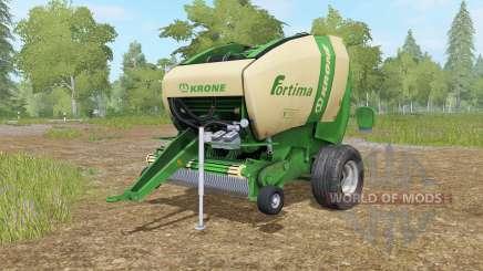 Krone Fortima Ꝟ 1500 para Farming Simulator 2017